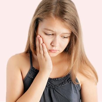 آبسه دندان شیری